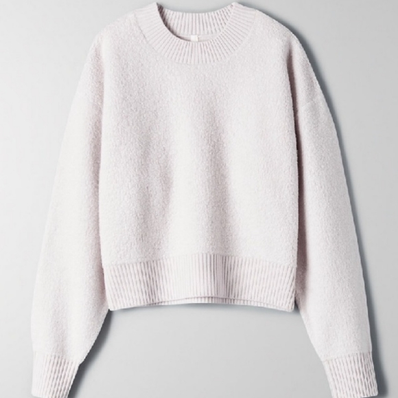 Aritzia The group by Babaton Nara fleece sweater S
